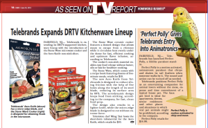 'As Seen On TV' Report